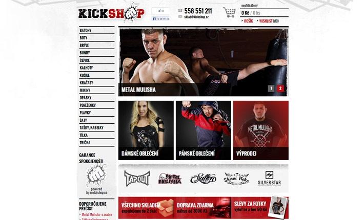 Bojová móda: Kickshop
