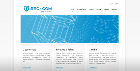 Web pro Sec-Communication